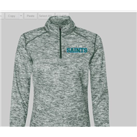Quarter Zip Ladies green