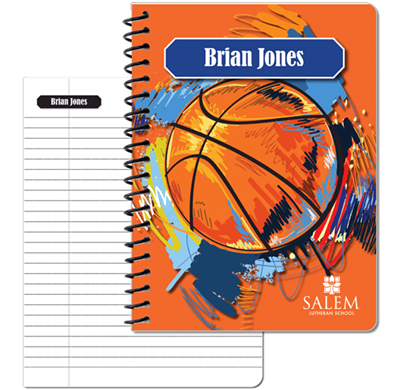 Sports Notebook - Basketball