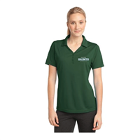 Ladies' Green Dri-Fit Style Polo